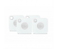 Tile Mate Item Finder with Replaceable Battery - 4 Pack