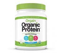 Orgain - Organic Vegan, Non-GMO Plant Based Protein Powder - Sweet Vanilla Bean (1.02 LB)