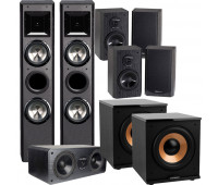 BIC America FH-6T 7.2 Home Theater System with DV62CLRS + 4 DV62si + 2 H-100