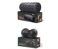 LifePro Fitness Bundle With LifePro 4 Speed Vibrating Foam Roller + LifePro Velocity Ball 2.0