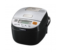 Zojirushi Micom 3 Cup Rice Cooker & Warmer -Silver Black